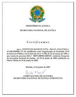 certificado OSCIP